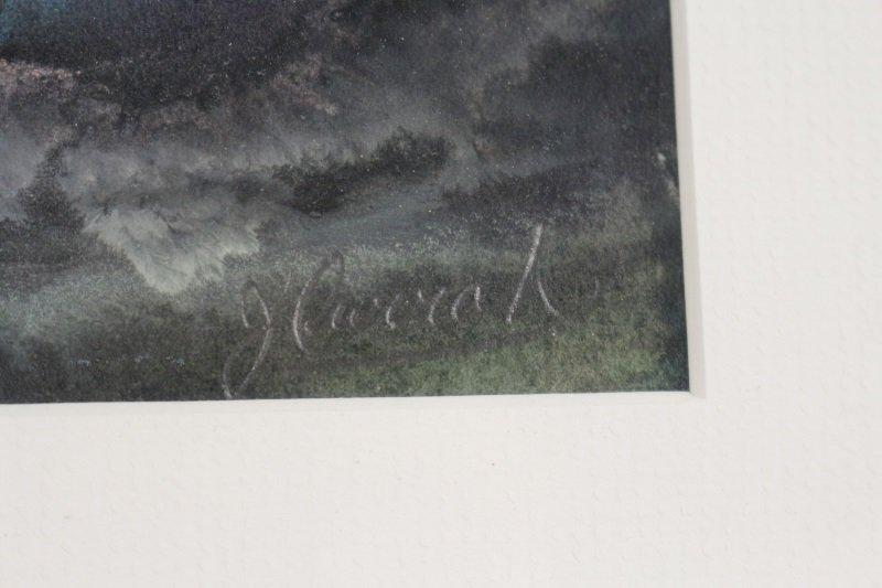 """Marsh Study"", Gouache & Pastel, Joanne Currah - 7"