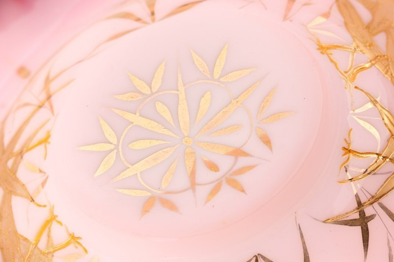 Toronto Silver & Cased Glass Brides Bowl Basket - 7