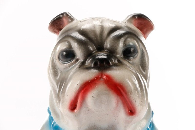 Two English Pottery Dog Form Piggy Banks - 2