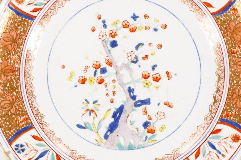 Set of 4 Spode Kakiemon Tree of Life Plates - 3
