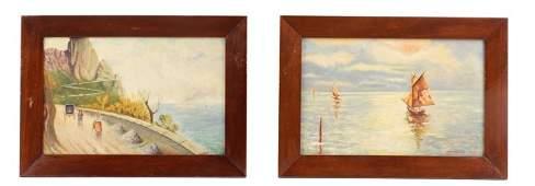 Collection of Italian School Paintings, Circa 1944