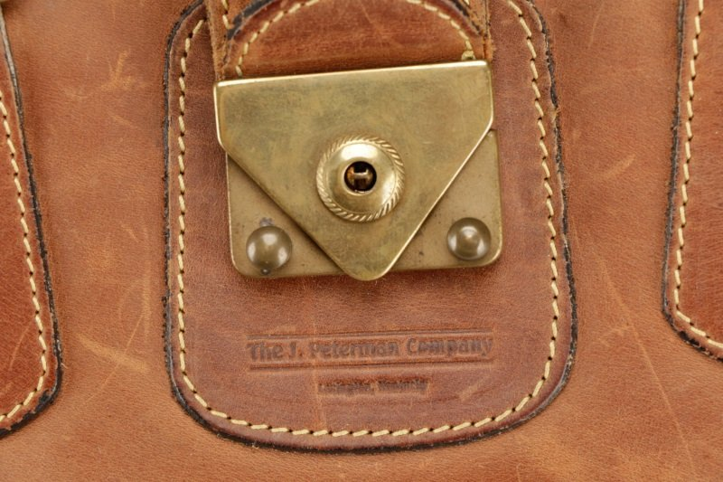 The J. Peterman Company Genuine Gladstone Bag - 2
