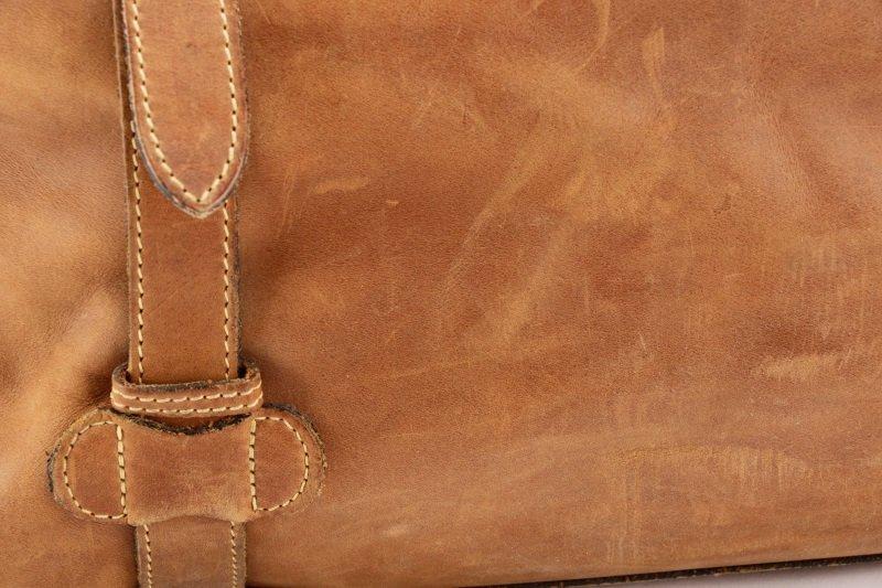The J. Peterman Company Genuine Gladstone Bag - 4