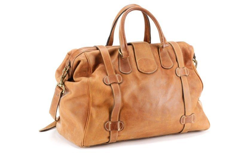 The J. Peterman Company Genuine Gladstone Bag - 5