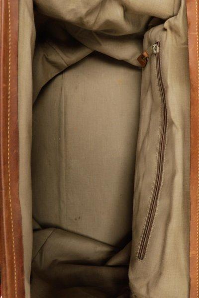 The J. Peterman Company Genuine Gladstone Bag - 6