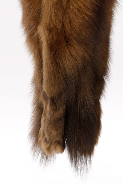 Switzer's Fur Vintage Brown Mink Stole or Wrap - 2