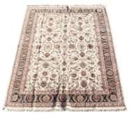 """Hand Woven Kashan Indo Rug (9'8""""x14'5"""")"""
