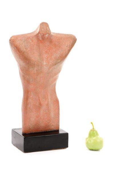 "Gwen Lux, ""Nude Torso"", Signed Ceramic, 1948 - 10"