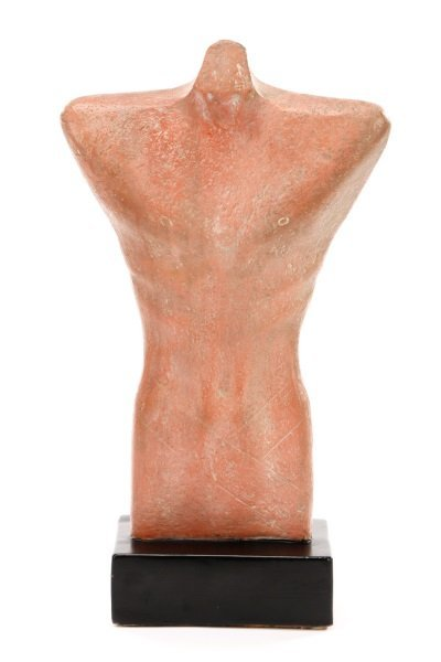 "Gwen Lux, ""Nude Torso"", Signed Ceramic, 1948"