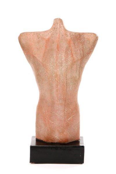 "Gwen Lux, ""Nude Torso"", Signed Ceramic, 1948 - 5"
