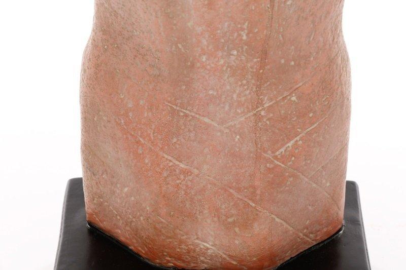 "Gwen Lux, ""Nude Torso"", Signed Ceramic, 1948 - 6"