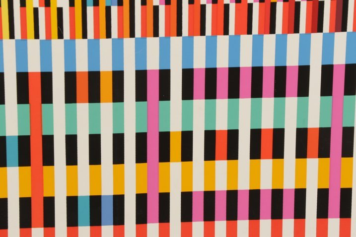 Unframed Abstract Yaacov Agam Serigraph - 6