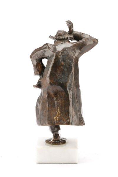 """Paul Braslow, """"Hasidic Dancer"""", Bronze - 4"""