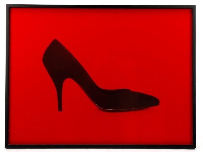 "Neil Winokur, ""Shoe"", Cibachrome Print, 1990"