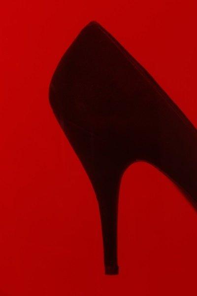 "Neil Winokur, ""Shoe"", Cibachrome Print, 1990 - 2"