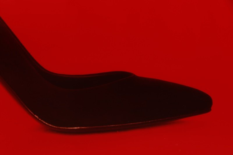 "Neil Winokur, ""Shoe"", Cibachrome Print, 1990 - 3"