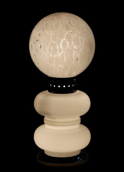 Vistosi Attributed MCM Murano Glass Totem Lamp - 2
