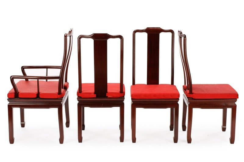 Eight Style of James Mont for Baker Dining Chairs - 2