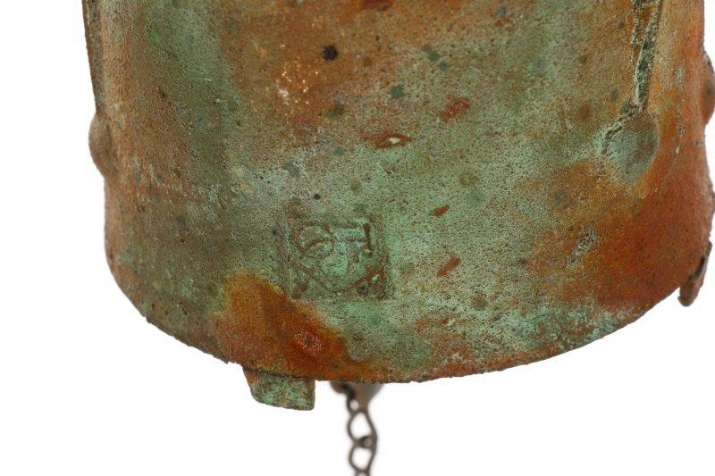 Paolo Soleri + Arcosanti Bronze Brutalist Bell - 4