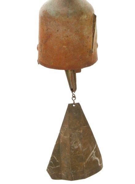 Paolo Soleri + Arcosanti Bronze Brutalist Bell - 7