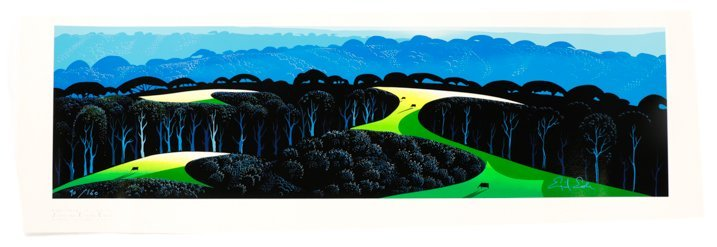 "Eyvind Earle,""Quiet Pastures""-1996"