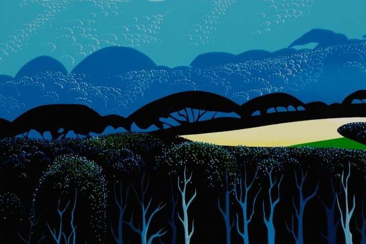 "Eyvind Earle,""Quiet Pastures""-1996 - 2"