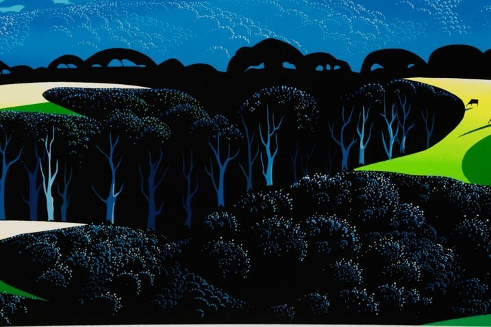 "Eyvind Earle,""Quiet Pastures""-1996 - 4"