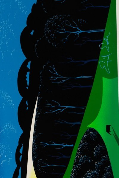 "Eyvind Earle,""Quiet Pastures""-1996 - 6"