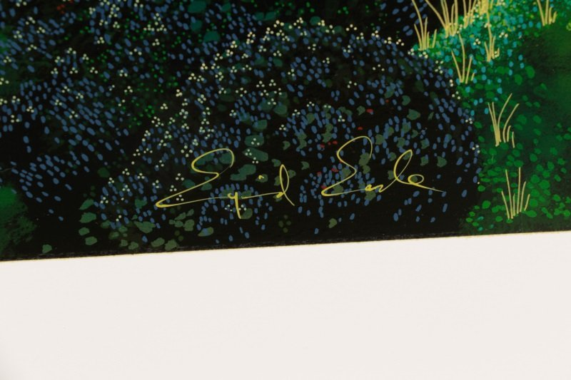"Eyvind Earle,""Untitled (Magical Clearing)""-1990 - 5"