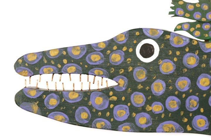 """Tubby Brown, """"Untitled (Mama Gator)"""", Folk Art - 2"""
