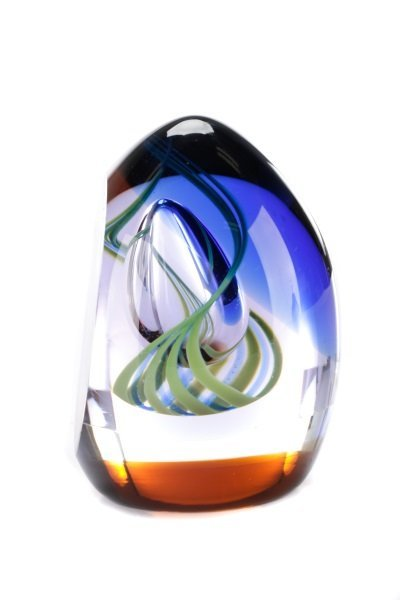Caithness Glass Nirvana Paperweight, MacIntosh - 5