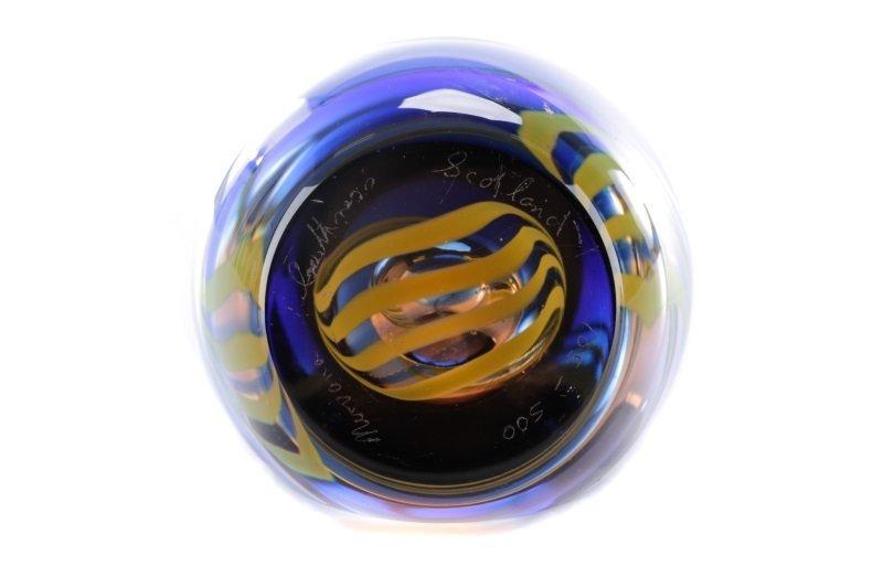Caithness Glass Nirvana Paperweight, MacIntosh - 6
