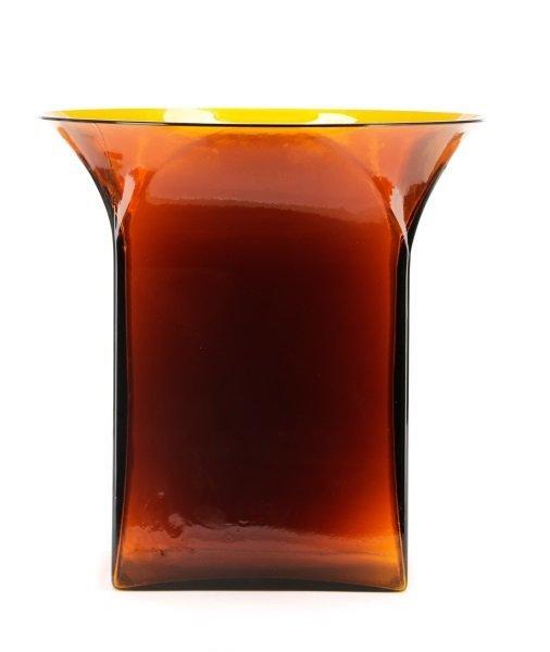 Sergio Asti Vase for Venini, Retailed by Knoll