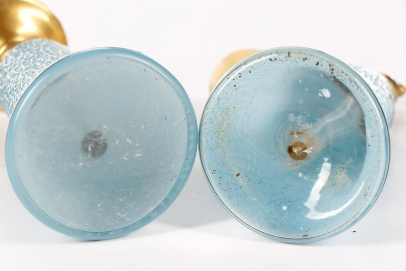 Art Deco Blue Glass Perfumizer & Dropper - 7