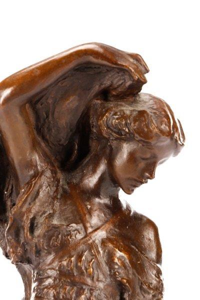 """After Bessie Potter Vonnoh, """"The Scarf"""" Sculpture - 2"""