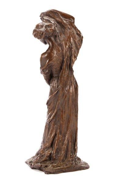"""After Bessie Potter Vonnoh, """"The Scarf"""" Sculpture - 6"""