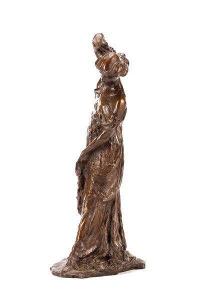 """After Bessie Potter Vonnoh, """"The Scarf"""" Sculpture - 7"""