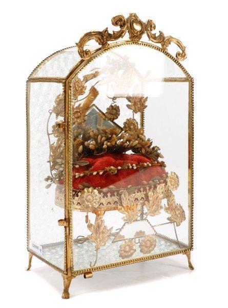 French Globe de Mariee Vitrine Bridal Keepsake
