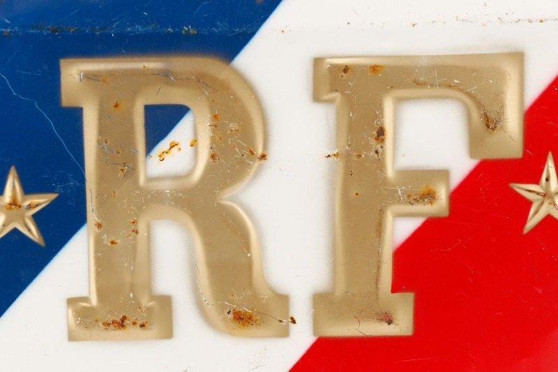 """""""Republic de France"""" Round Metal Medallion - 3"""