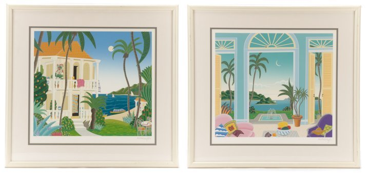Collection of Thomas Frederick McKnight Serigraphs