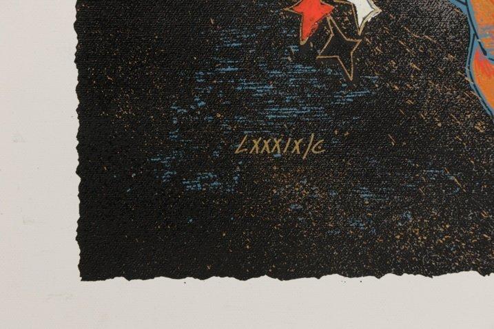 """Jiang Tie Feng, """"Beautiful Tomorrow"""", Serigraph - 5"""