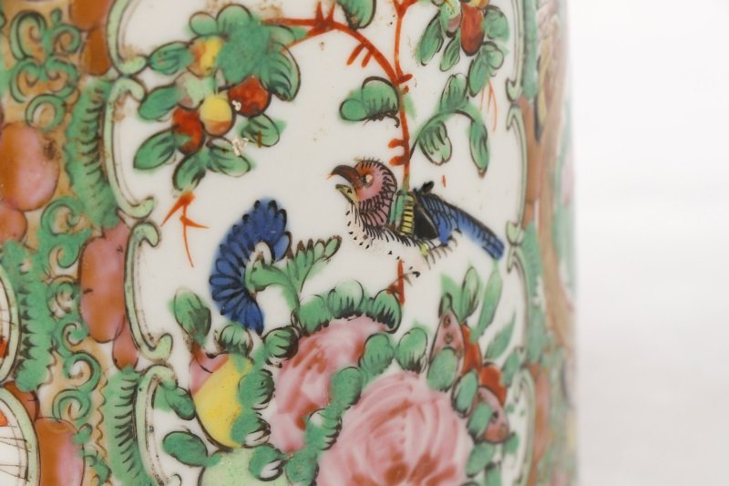 Chinese Export Famille Rose Medallion Teapot - 5