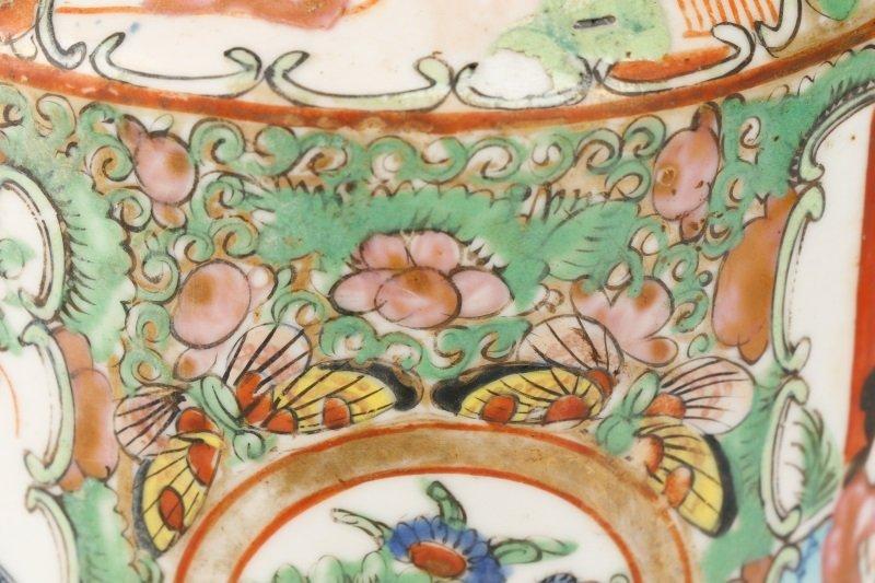 Chinese Export Famille Rose Medallion Teapot - 8