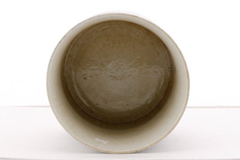 Chinese Brush Pot w/ Landscape Scenes, Kangxi Mark - 6