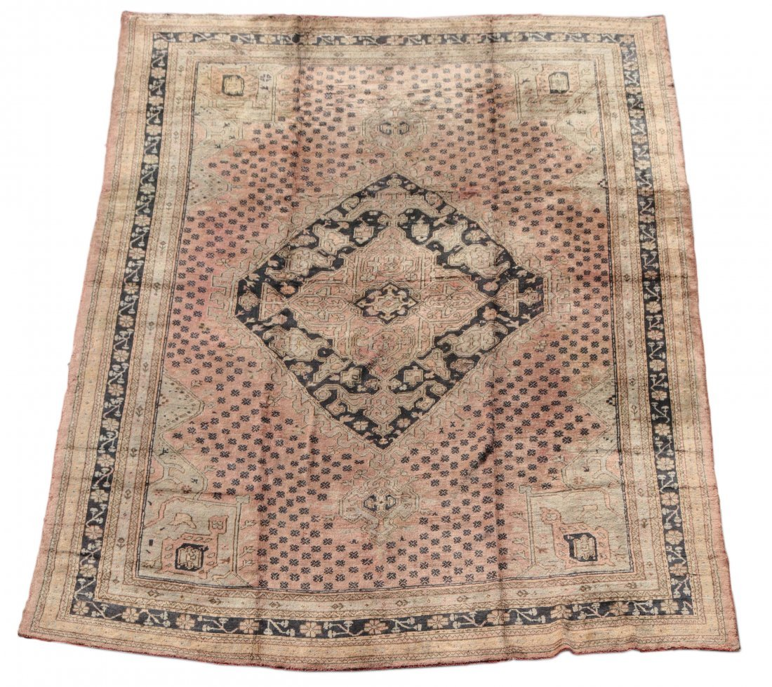 Fine Hand Woven Turkish Oushak Area Rug 11' x 14'