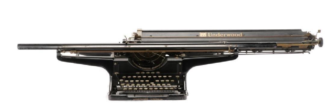 Rare Underwood Elliott-Fisher Railroad Typewriter