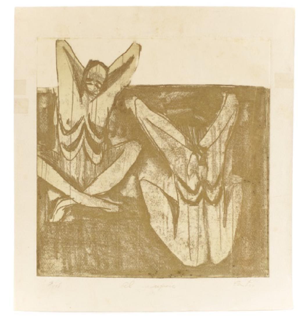 "Humberto Castro, ""Untitled (Bound Figures)"", Print"