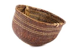 California Mono Pauite Rosebud Woven Basket