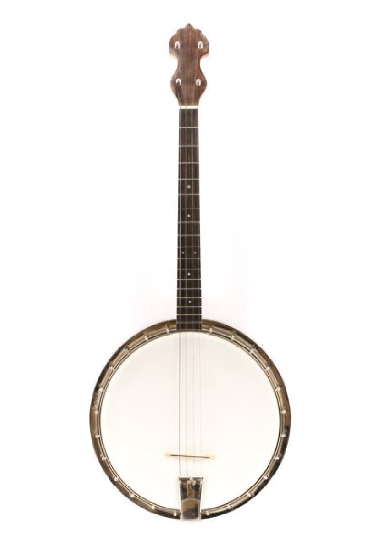 Scarce C.F. Martin Tenor Banjo in Case, 1920s