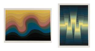 Collection of Two Large Scale Roy Ahlgren Prints